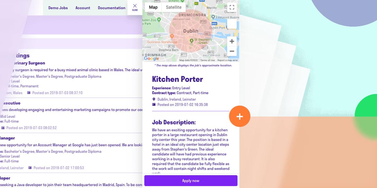 Image for Detailed Job Listings